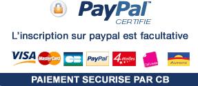 Paiement sécurisé Paypal>
