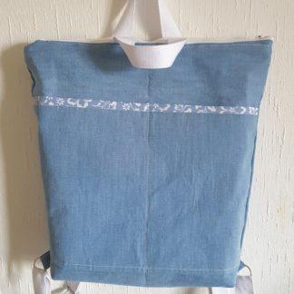 sac à dos jean