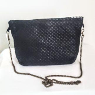 petit sac simili cuir noir