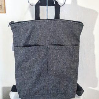 sac à dos gris